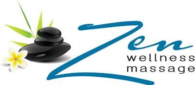 Zen Wellnessness Massage logo
